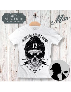 Skull 17 Must500 T-Shirt Uomo