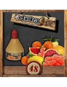 La Smorfia XXL N.48 Aroma King Liquid da 30ml Liquido Scomposto