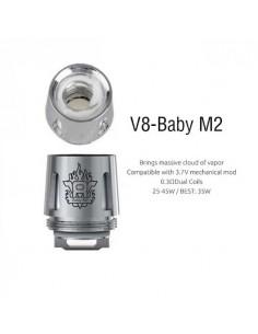 V8 baby M2 Head Coil Smok Resistenze Ricambio - 5 Pezzi