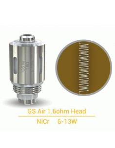 GS Air Head Coil Eleaf Resistenze 1.6 ohm - 5 Pezzi