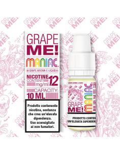 Grape Me Maniac Liquido Pronto 10ml Aroma Uva