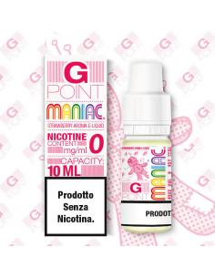 G Point Maniac Liquido Pronto 10ml Fragole Rosse