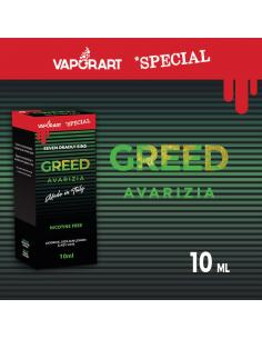 Greed di Vaporart Liquido Pronto 10ml Linea Special