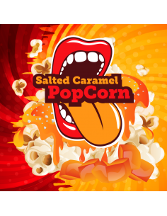 Salted Caramel PopCorn Aroma Concentrato Bigmouth da 10 ml