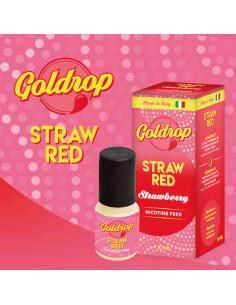 StrawRed di Goldrop Liquido Pronto da 10ml Aroma Fragola