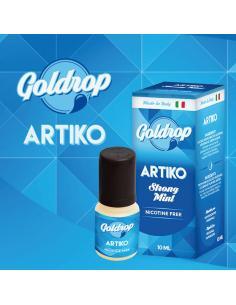 Artiko di Goldrop Liquido Pronto da 10ml Aroma Menta