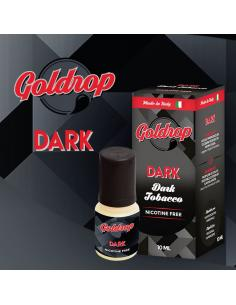 Dark di Goldrop Liquido Pronto da 10ml Aroma Tabaccoso