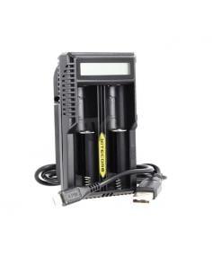 UM20 Caricabatterie Nitecore compatibile con batterie
