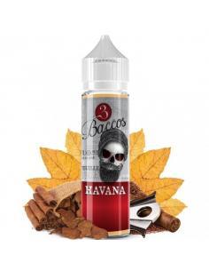 Havana Liquido 3 Baccos da 20ml Aroma Tabaccoso Sigaro Cubano