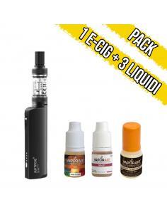 Pacchetto Q16 Pro JustFog + 3 Liquidi pronti Vaporart al Tabacco