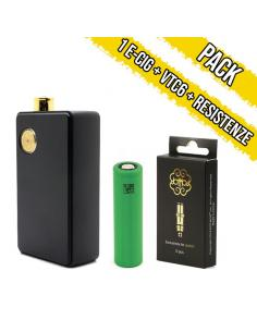 Pack DotAIO Kit All In One Dotmod + Batteria VTC6 18650