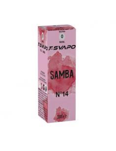 Samba N°14 Liquido Pronto T-Svapo by T-Star da 10ml Aroma