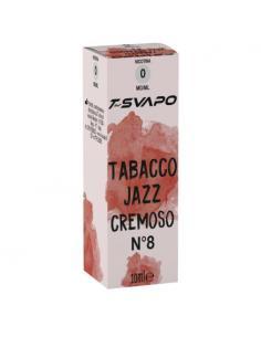 Tabacco Jazz Cremoso N°8 Liquido Pronto T-Svapo by T-Star da