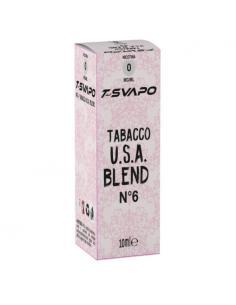 Tabacco USA Blend N°6 Liquido Pronto T-Svapo by T-Star da 10ml