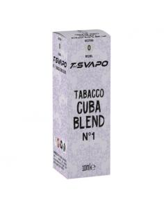 Tabacco Cuba Blend N°1 Liquido Pronto T-Svapo by T-Star da 10ml