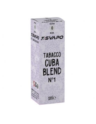 Tabacco Cuba Blend N°1 Liquido Pronto T-Svapo by T-Star da 10ml
