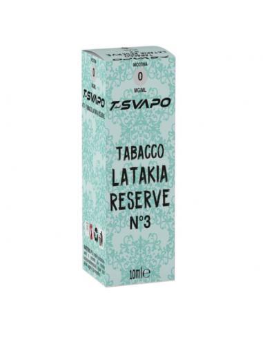 Tabacco Latakia Reserve N°3 Liquido Pronto T-Svapo by T-Star da