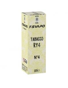 Tabacco RY4 N°4 Liquido Pronto T-Svapo by T-Star da 10ml Aroma