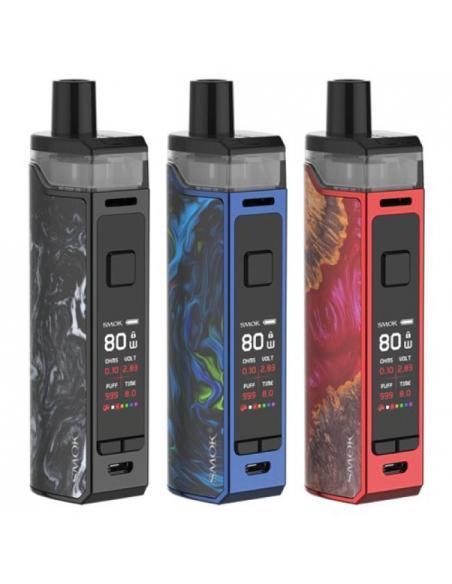 RPM80 Pod Mod di Smok Starter Kit con capacità liquido 5 ml e