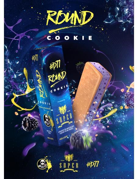 D77 Round Cookie Liquido Danielino77 Super Flavor Mix & Vape 50