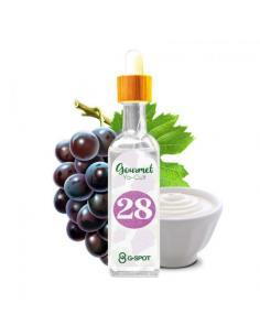 28 Gourmet Yo-Cult Liquido G-Spot 20ml Aroma Yogurt e Uva