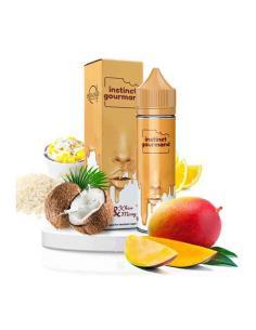 Khao e Mango Liquido Alfaliquid 50 ml Aroma Riso Cocco Limone