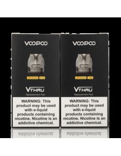V.Thru Pro Pod di Voopoo Cartuccia Ricambio 32 ml - 2 pezzi