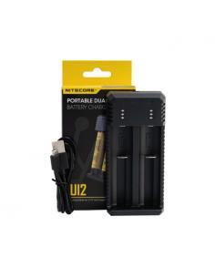 UI2 Carica Batterie Nitecore Universale - 2 Slot