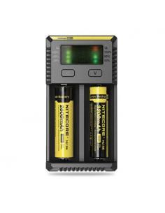 New I2 Carica Batterie Nitecore Universale - 4 Slot