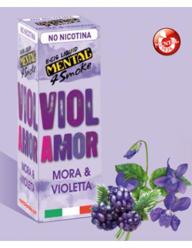Violamor Mental 4 Smok Liquido Pronto 10 ml Aroma Mora e