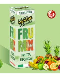 Frumix Mental 4 Smoke Liquido Pronto 10 ml Aroma Frutta Mista