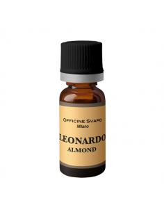 Leonardo Liquido Officine Svapo Aroma 10 ml Tabacco e Mandorla