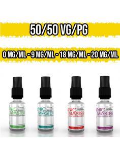 Nicotina in Base Neutra 50VG / 50PG 10 ml Nic Master