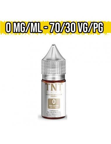 Nicotina TNT Vape Base Neutra Nic Shot 70VG 30PG 10ml