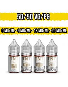 Nicotina TNT Vape Base Neutra Nic Shot 50VG 50PG 10ml