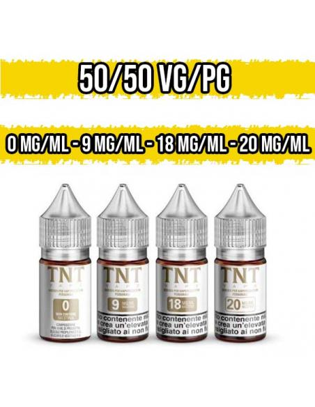 Nicotina TNT Vape Base Neutra Nic Shot 50VG 50PG 10ml