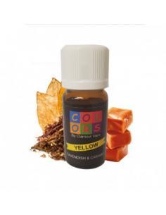 Yellow Colors Liquido Clamour Vape Aroma 10 ml Tabacco