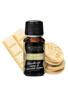 White Biscuit Liquido Goldwave Aroma 10 ml Biscotto Cioccolato