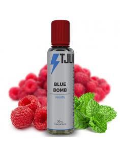 Blue Bomb Liquido Scomposto T-Juice 20ml Aroma Menta e Lamponi