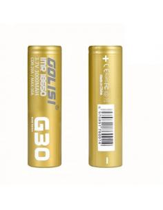 IMR 18650 G30 Golisi 3000mAh 30A Batteria Litio Ricaricabile
