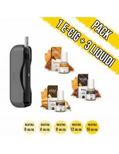 Pacchetto Kiwi con 3 Liquidi pronti Kiwi Vapor Aroma al Tabacco