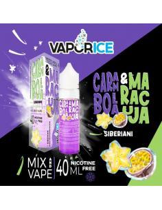 Carambola e Maracuja Vaporice Liquido Vaporart 40 ml Aroma