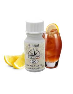 Euros N.20 Liquido Easy Vape Aroma 10 ml The al Limone