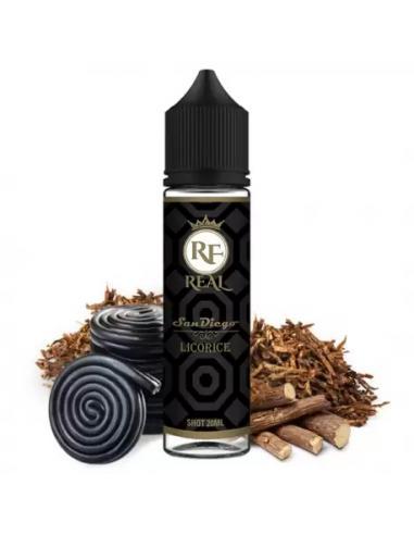 San Diego Licorice Liquido Real Farma 20ml Aroma Tabacco