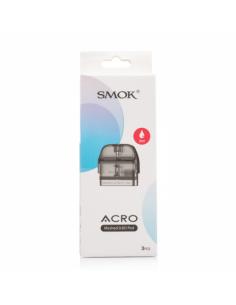 Acro Smok Pod Ricambio 2 ml - 0.6 ohm e 0.8 ohm - 3 Pezzi