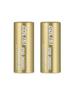 Accu S43 Golisi 26650 da 4300mAh 40A Batteria Litio Ricaricabile