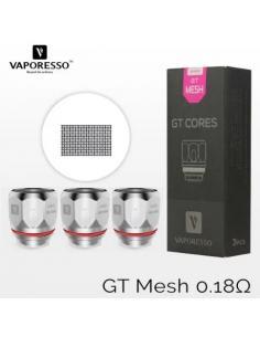 GT Mesh Resistenza Vaporesso 0.18 ohm - 3 Pezzi