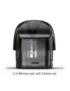 Minican Plus Pod Ricambio Aspire 3ml 0,8ohm - 2 Pezzi