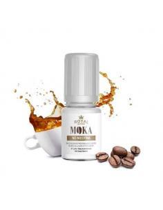Moka Liquido Pronto Royal Blend 10ml Aroma Caffè