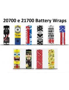Pellicola Wrap per Batterie 20700 e 21700 Termo Retrattile